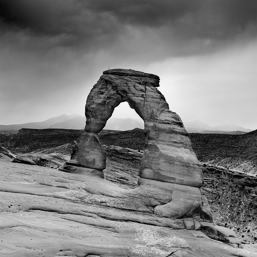 Delicate Arch, parc national d'Arches, Utah, USA. 2016