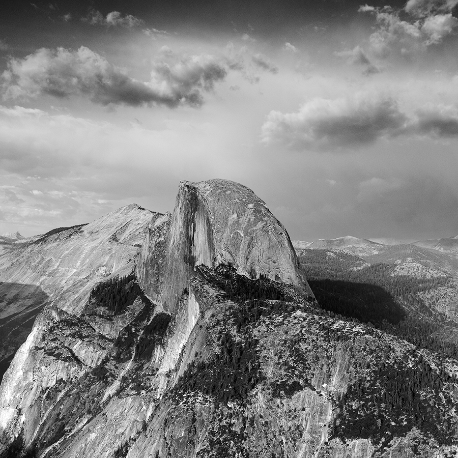 Half Dome, parc national du Yosemite, Californie, USA. 2016