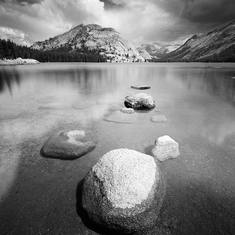 Tenaya Lake, parc national du Yosemite, Californie, USA. 2016