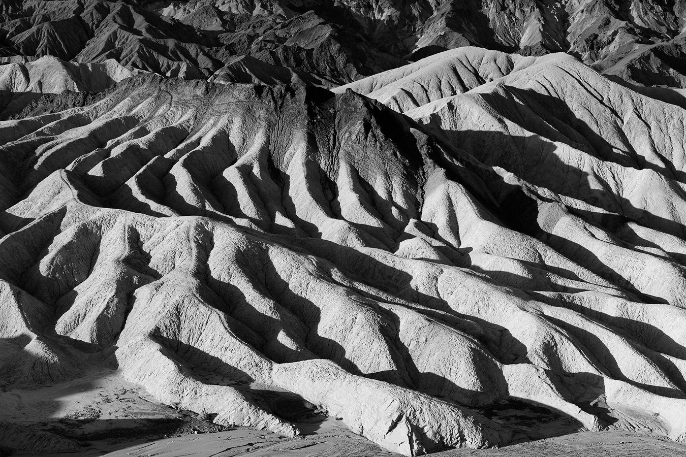 Zabriskie Point 2, parc national de la Vallée de la Mort, Californie, USA. 2016