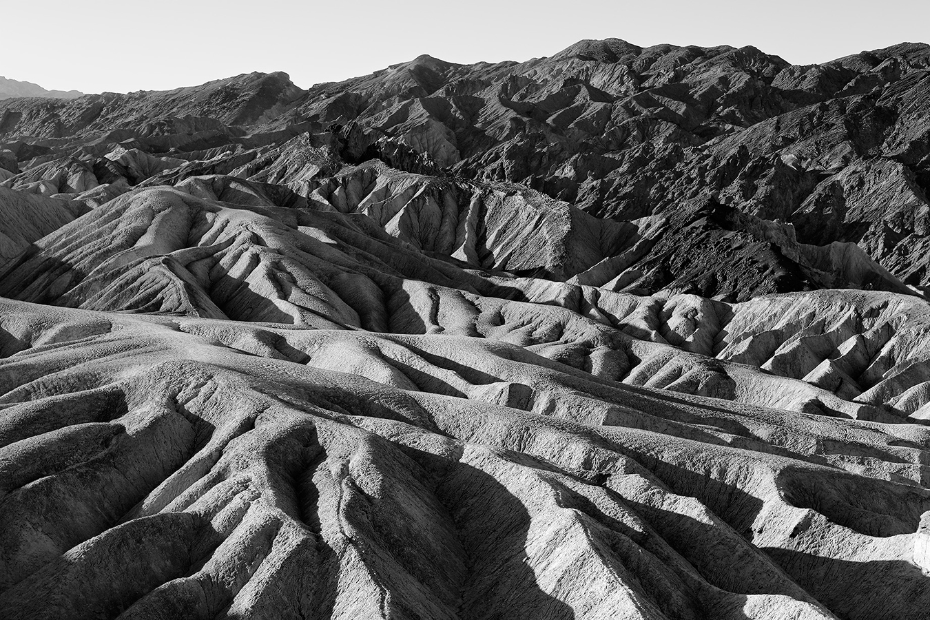 Zabriskie Point 3, parc national de la Vallée de la Mort, Californie, USA. 2016
