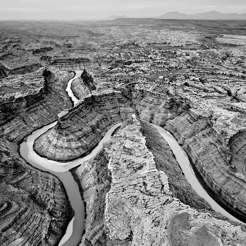 Confluence de la Green River et du Colorado 1, parc national de Canyonlands, Utah, USA. 2016