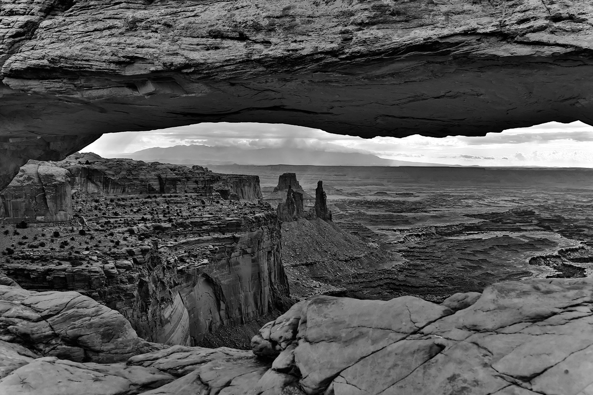 Mesa Arch, parc national de Canyonlands, Utah, USA. 2016