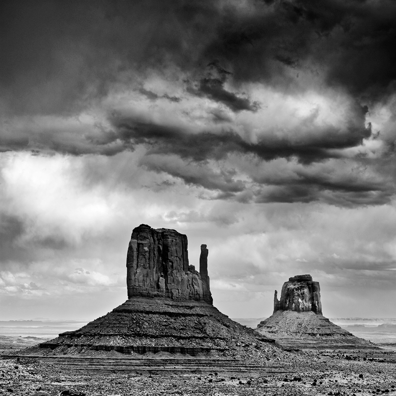 Monument Valley 3, parc Navajo Tribal, Arizona, USA. 2016