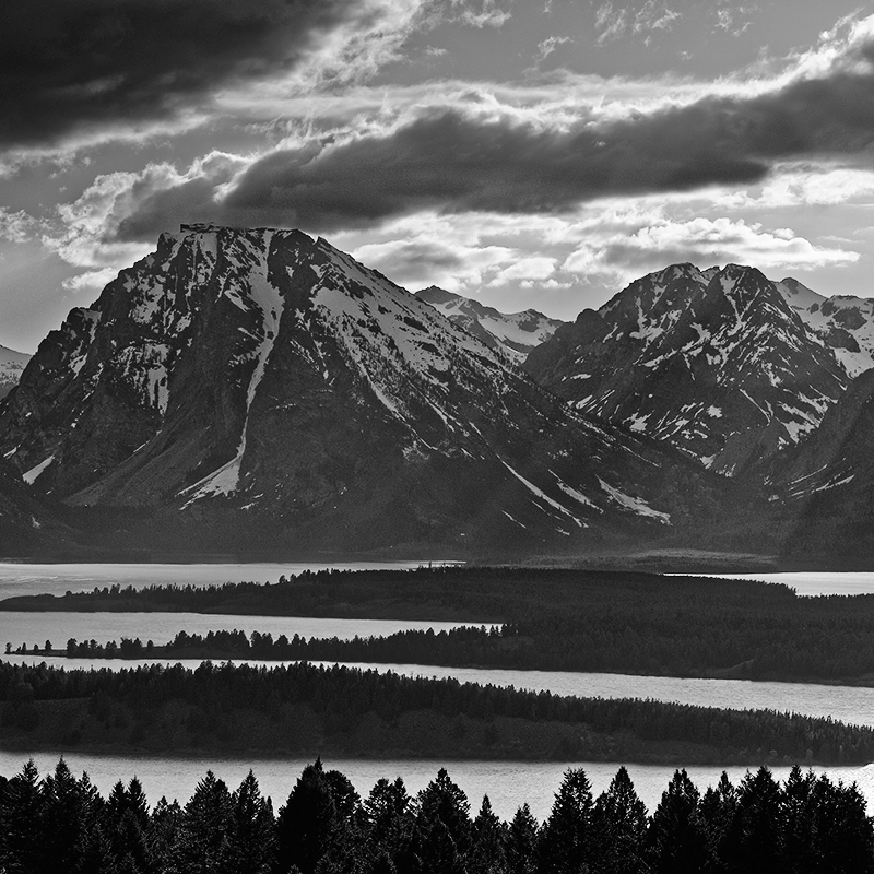 Signal Mountain, parc national de Grand Teton, Wyoming, USA. 2017