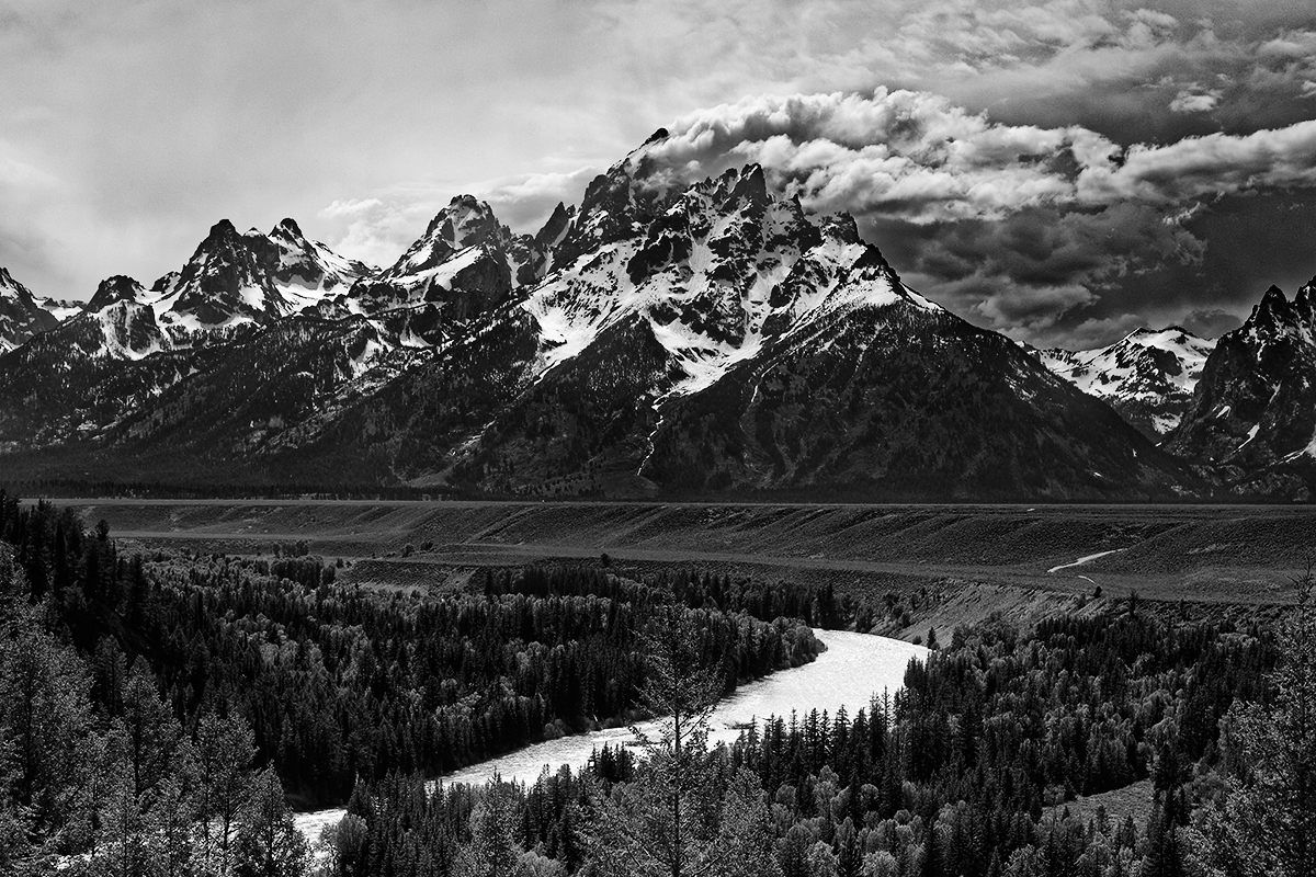 Snake River, parc national de Grand Teton, Wyoming, USA. 2017