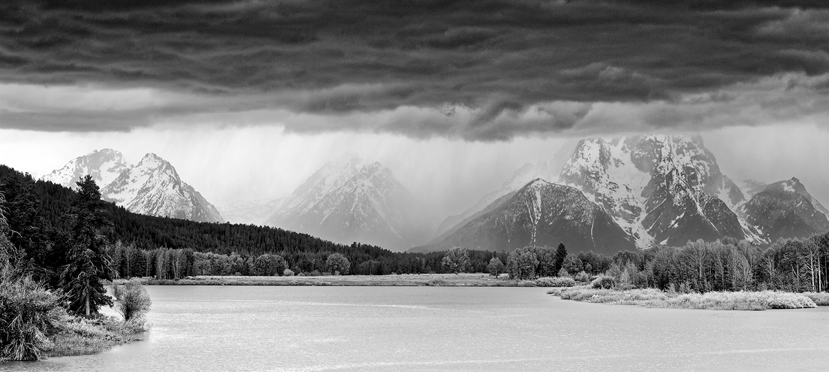 Oxbow Bend, parc national de Grand Teton, Wyoming, USA. 2017